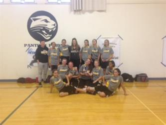 Group Photo in the Gym