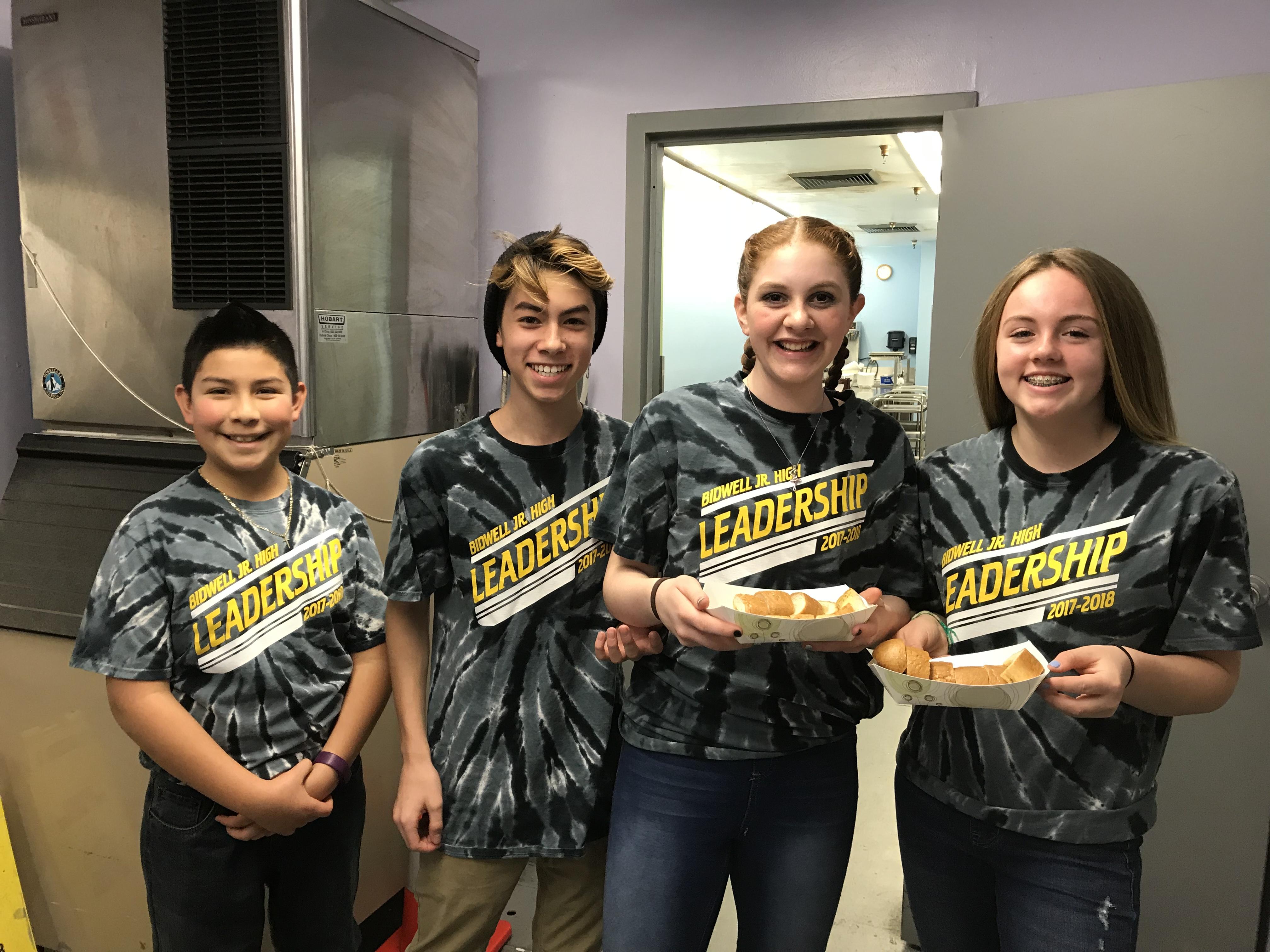 Bidwell Junior High School Leadership