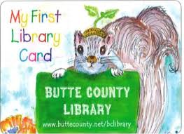 Butte County Library Card